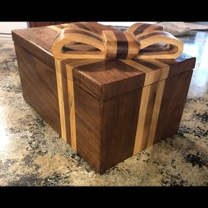 Other - Handmade wooden present box
